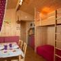 Verhuur glamping houten cabane in de Midi-Pyrenees - Occitanië Ariege, Frankrijk : binnenruimte