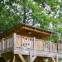 Verhuur glamping houten cabane in de Midi-Pyrenees - Occitanië Ariege, Frankrijk : buiten