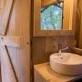 Verhuur van glamping Lodge tent in de Midi-Pyrenees - Occitanië, Ariege, Frankrijk : badkamer