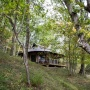 Verhuur van glamping Lodge tent in de Midi-Pyrenees - Occitanië, Ariege, Frankrijk : in het bos