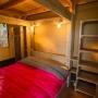 Verhuur van glamping Lodge tent in de Midi-Pyrenees - Occitanië, Ariege, Frankrijk : slaapkamer