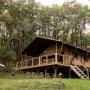 Verhuur glamping Lodge tent Luxe in de Midi-Pyrenees - Occitanie, Ariege, Frankrijk : buiten