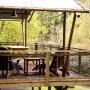 Verhuur glamping Lodge tent Luxe in de Midi-Pyrenees - Occitanie, Ariege, Frankrijk : uitzicht op de natuur