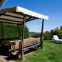 Lloguer bungalou Somni a Migdia Pirineus – Occitània, Arieja: terrassa