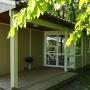 Lloguer bungalou Somni a Migdia Pirineus – Occitània, Arieja: vista terrassa barbacoa