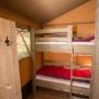 Lloguer glàmping tenda Lodge Luxe a Migdia-Pirineus- Occitània, Arieja: habitació nens