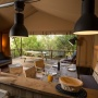 Lloguer glàmping tenda Lodge Luxe a Migdia-Pirineus- Occitània, Arieja: sala d'estar