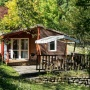 Alquiler bungaló de madera Descanso en Mediodía-Pirineos - Occitania, Ariège: fachada