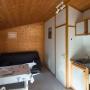 Alquiler bungaló de madera Descanso en Mediodía-Pirineos - Occitania, Ariège: sala de estar