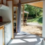 Alquiler bungaló de madera Descanso en Mediodía-Pirineos - Occitania, Ariège: terraza