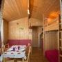 Alquiler glamping cabaña de madera en Mediodía-Pirineos - Occitania, Ariège: interior