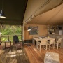 Alquiler glamping tienda Lodge Lujo en Mediodia-Pirineos - Occitania, Ariège: terraza