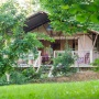 Alquiler glamping tienda Safari Woodlodge en Mediodía-Pirineos - Occitania, Ariège: exterior