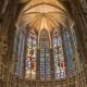 Kathedraal Saint-Michel van Carcassonne in Occitanië Midi-Pyrénées