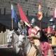 Lluites de cavallers a la ciutat medieval de Carcassona a Occitània © Arnault Lemaire