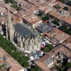 Catedral de Saint-Maurice de Miralpeix a l'Arieja, Migdia-Pirineus, Occitània © Jacques Jany