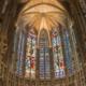 Cathédrale Saint-Michel de Carcassonne en Occitanie Midi-Pyrénées