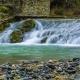 Fuente intermitente de Fontestorbes en Ariège