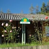 Casa per acampar natura ariege occitanie