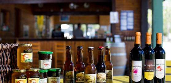 Productes gastronòmics de l'Arieja à l'ecocàmping La Serre