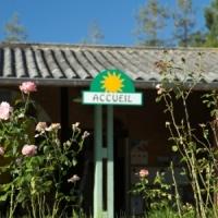 Empfang naturcamping in Ariege Okzitanien, Frankreich