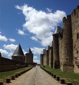 Cité de Carcassonne au patrimoine mondial de l'Unesco