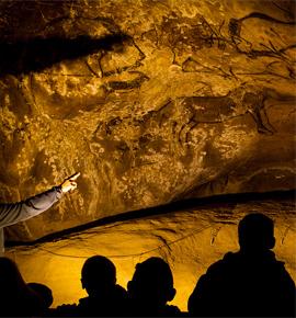 Grotte archéologique de Niaux en Ariège