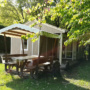 Dream chalet rental in France, Midi-Pyrenees - Occitanie, Ariege : picnic table view-_pic_nic_table