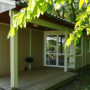 Dream chalet rental in France, Midi-Pyrenees - Occitanie, Ariege : terrace view with barbecue