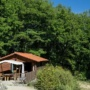 Green wooden chalet rental in France, Midi-Pyrenees - Occitanie, Ariege : outside