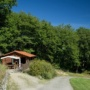 Green wooden chalet rental in France, Midi-Pyrenees - Occitanie, Ariege : path