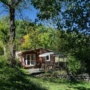 Relaxation wooden chalet rental in France, Midi-Pyrenees - Occitanie, Ariege : preserved nature