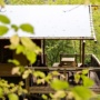 Glamping tent rental Lodge Luxury in France, Midi-Pyrenees - Occitanie, Ariege : in the woods
