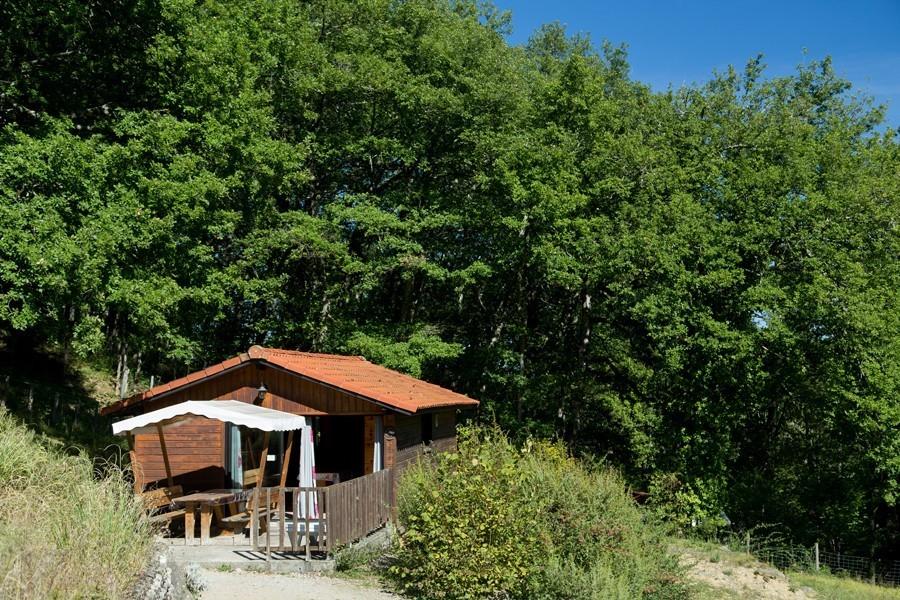 Location chalet en bois Green en Midi-Pyrénées - Occitanie, Ariège : extérieur