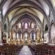 Kathedrale Saint-Maurice in Mirepoix in Ariege in der Region Midi-Pyrenees Okzitanien