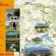 Wandern auf dem grünen Pfad in den katharischen Pyrenäen in Ariege
