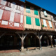 Bastide of Mirepoix in Ariege, Midi-Pyrenees Occitanie, France © Bertrand Tronsson