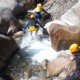 Canyoning  in Ariege Occitania