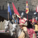 Knights' fights in the medieval city of Carcassonne in Occitania, France © Arnault Lemaire