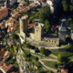 Foix castle in Ariege, Midi-Pyrenees Occitanie, France © Tourism Office of Foix