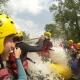 Rafting in Ariege Occitania region