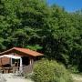Vermietung Holzferienhaus Green in Frankreich, Region Midi-Pyrenees - Okzitanien, Ariege: Außenansicht