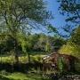 Vermietung Ferien Holzhaus aus Holz Relax in Frankreich, Region Midi-Pyrenees - Okzitanien, Ariege: Aussenansicht