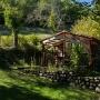 Vermietung Ferien Holzhaus aus Holz Relax in Frankreich, Region Midi-Pyrenees - Okzitanien, Ariege: Inmitten der Natur