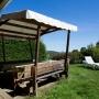 Vermietung ferienhaus traum frankreich midi pyrenees okzitanien ariege terrasse