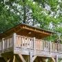 Glamping Holzhütte vermietung in Frankreich, in der Region Midi-Pyrénées - Okzitanien, Ariege: Außenansicht