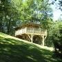 Glamping Holzhütte in Frankreich vermietung, in der Region Midi-Pyrenees - Okzitanien, Ariege: äußere