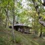 Glamping zelt lodge vermietung okavango premium frankreich midi pyrenees okzitanien ariege im wald