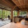 Glamping zelt lodge vermietung okavango premium frankreich midi pyrenees okzitanien ariege wohnzimmer