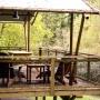 Glamping zelt lodge vermietung safari woodlodge xl luxus frankreich midi pyrenees okzitanien ariege in der natur